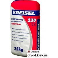 Клеевая смесь для приклеивания МВ плит Крайзель (Kreisel) 230, 25 кг