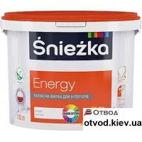 Интерьерная латексная краска матовая Снежка (Sniezka) Energy, 1,4 кг