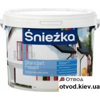 Фасадная акриловая краска Снєжка (Sniezka) Стандарт Фасад, 14 кг