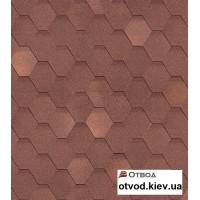 Гибкая черепица Технониколь (TECHNONICOL) Кадриль Оникс 3 кв.м.