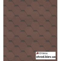 Гибкая черепица Технониколь (TECHNONICOL) Кадриль Агат 3 кв.м.
