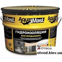 Мастика битумная для фундамента АкваМаст (AquaMast) 18 кг