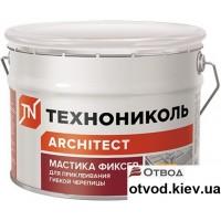 Мастика для гибкой черепицы ТЕХНОНИКОЛЬ (Tehnonikol) №23 (Фиксер), 12 кг