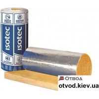 Минеральная вата Изовер (ISOVER) ISOTEC КIМ-AL, 30х1200х8000 мм (9,6 м.кв)